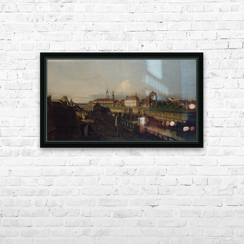 Old Fortifications of Dresden HD Sublimation Metal print with Decorating Float Frame (BOX)