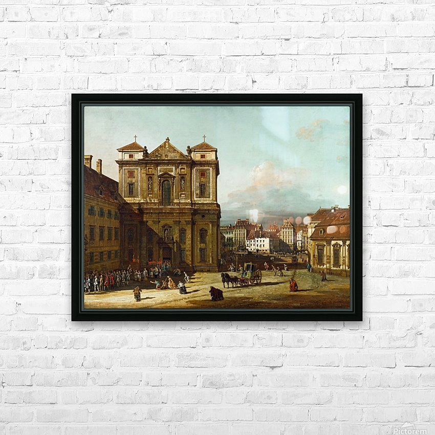 Procession in Dresden HD Sublimation Metal print with Decorating Float Frame (BOX)