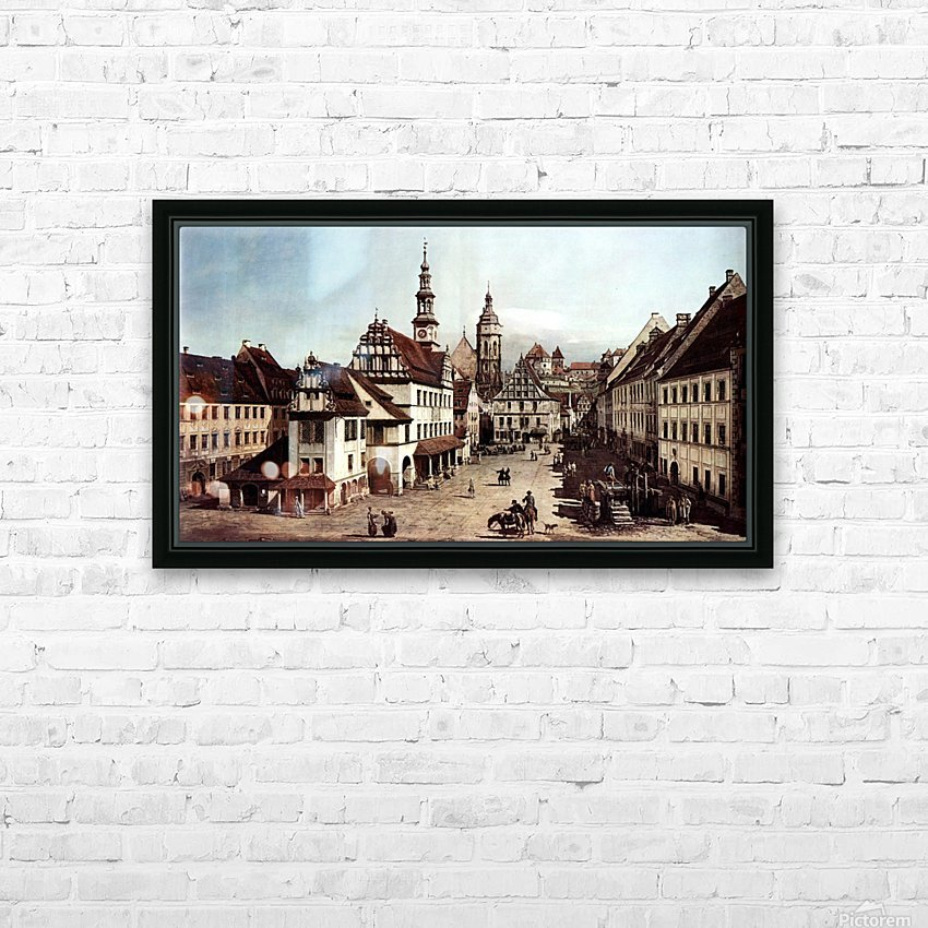 City of Pirna HD Sublimation Metal print with Decorating Float Frame (BOX)
