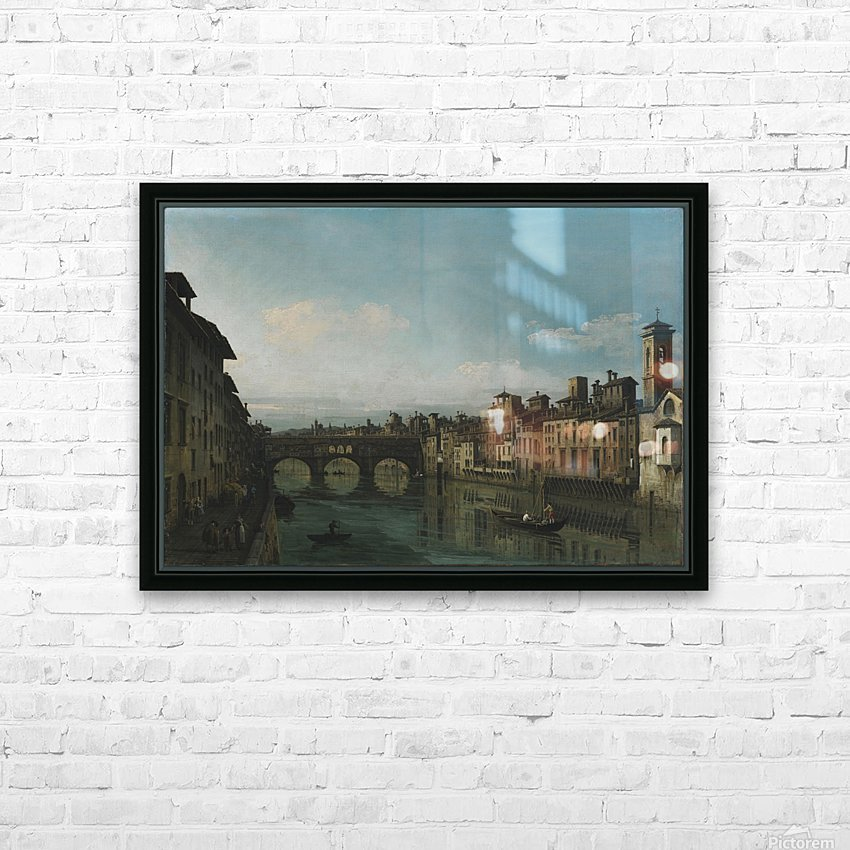 City of Florence HD Sublimation Metal print with Decorating Float Frame (BOX)