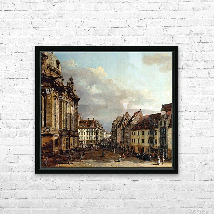 Staatliche Kunstsammlungen Dresden HD Sublimation Metal print with Decorating Float Frame (BOX)