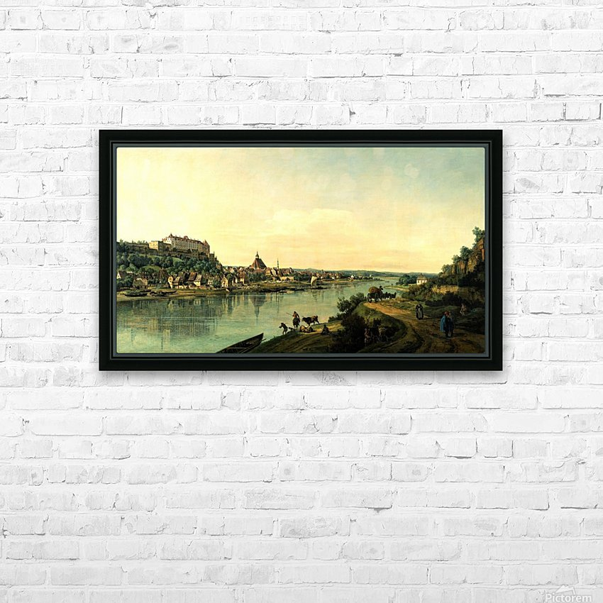 Along the river HD Sublimation Metal print with Decorating Float Frame (BOX)