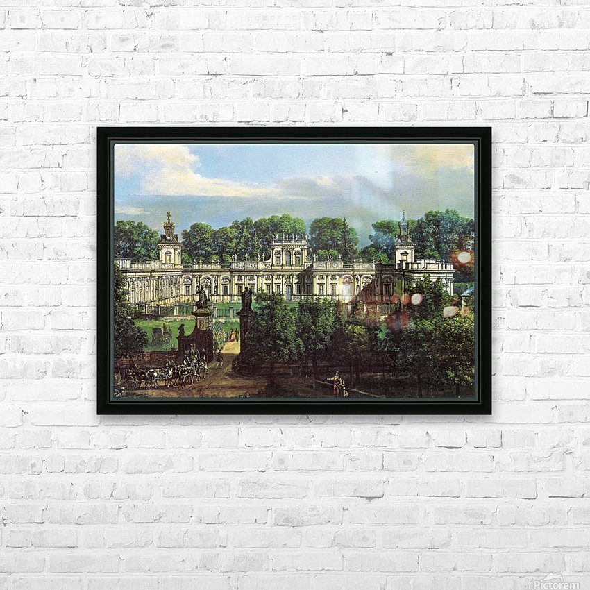 View of Palace in Warszawa HD Sublimation Metal print with Decorating Float Frame (BOX)