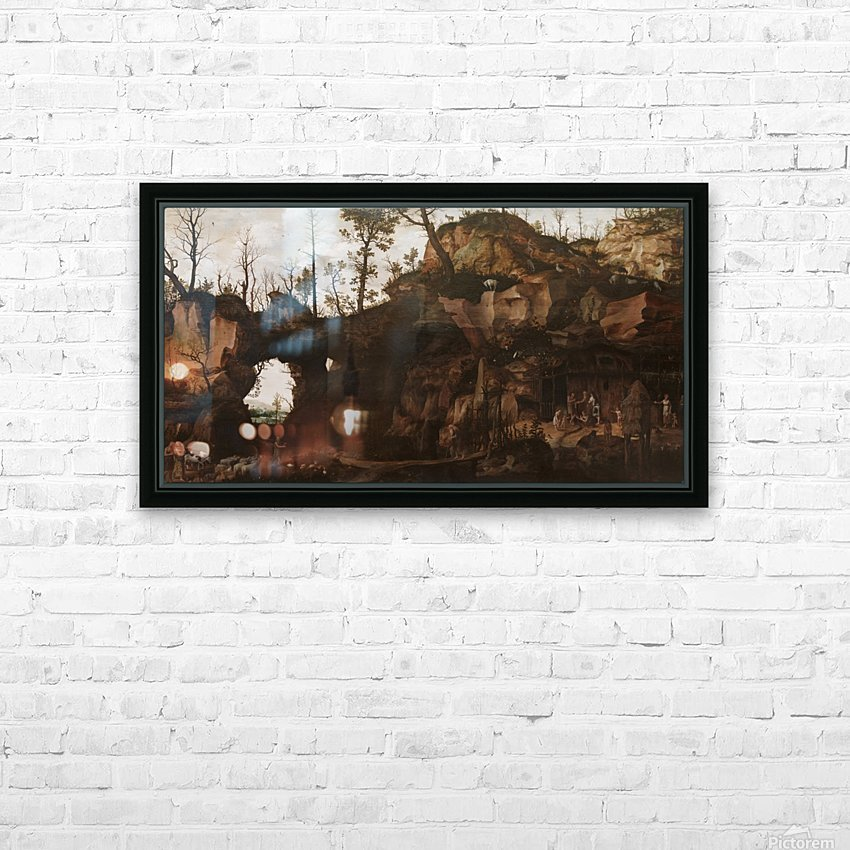 The Dawn of Civilization HD Sublimation Metal print with Decorating Float Frame (BOX)