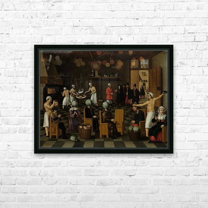 The Legend of the Baker of Eeklo HD Sublimation Metal print with Decorating Float Frame (BOX)