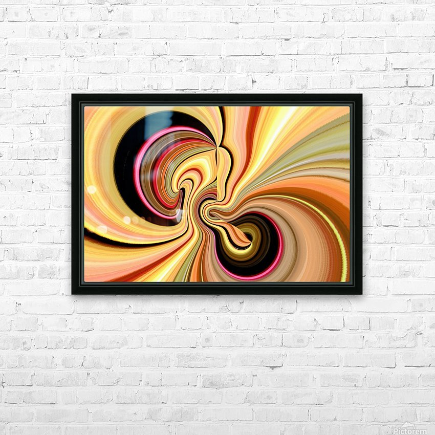 DISTORSION 3 HD Sublimation Metal print with Decorating Float Frame (BOX)