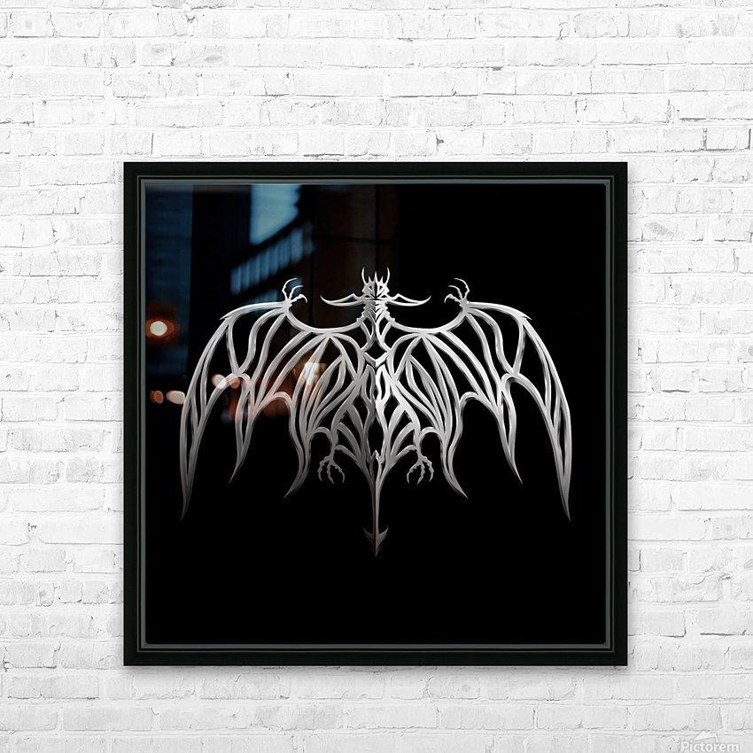 Drakulax Volkanun HD Sublimation Metal print with Decorating Float Frame (BOX)