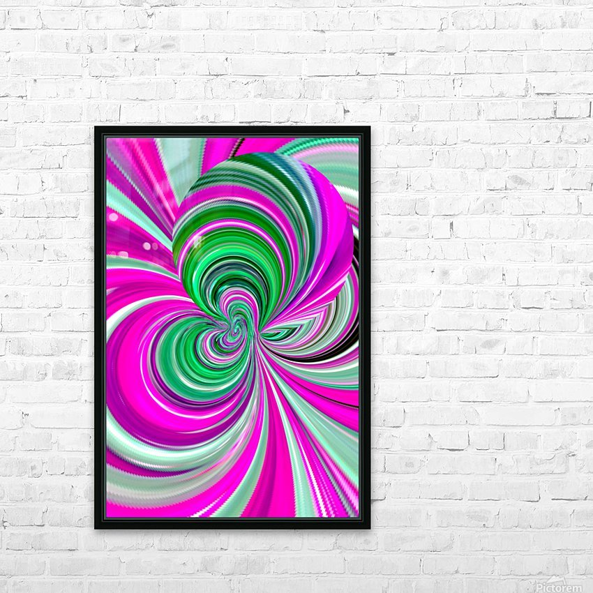 DISTORSION 5B HD Sublimation Metal print with Decorating Float Frame (BOX)