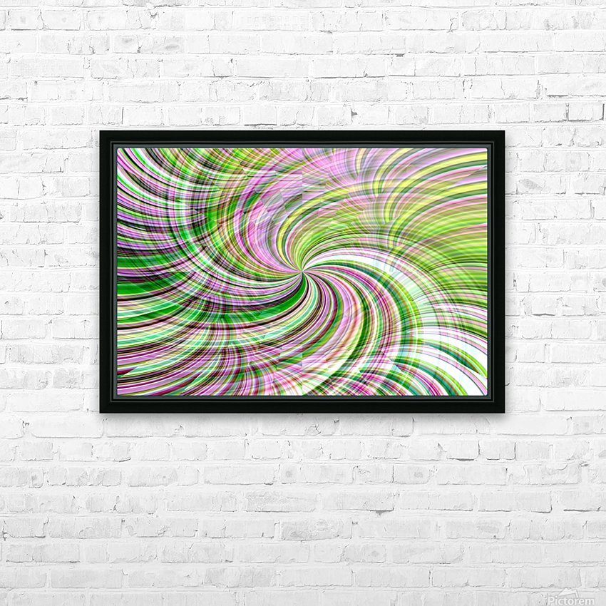 WHIRLWIND 1 HD Sublimation Metal print with Decorating Float Frame (BOX)