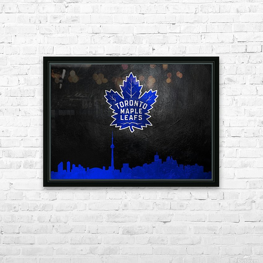 Toronto Maple Leafs HD Sublimation Metal print with Decorating Float Frame (BOX)