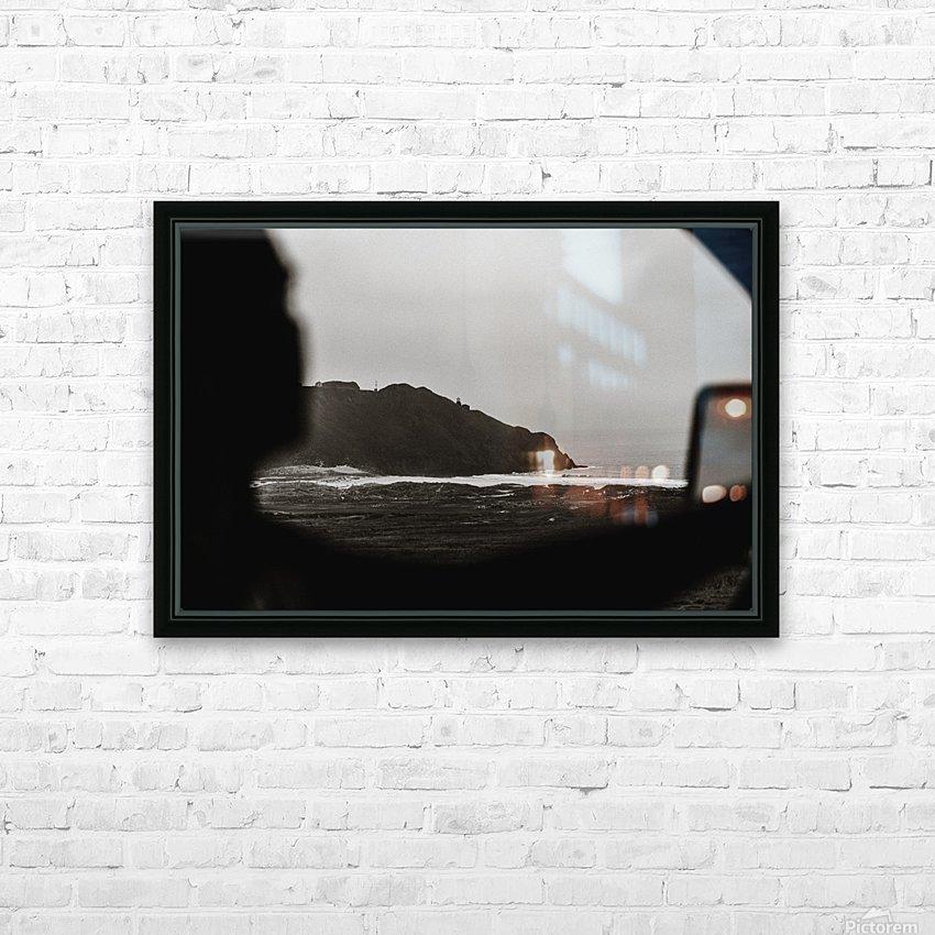 California Roadtrip HD sublimation métal imprimé avec décoration flotteur cadre (boîte)