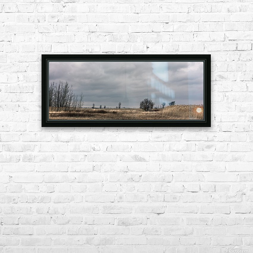 Cloudy sunday HD Sublimation Metal print with Decorating Float Frame (BOX)