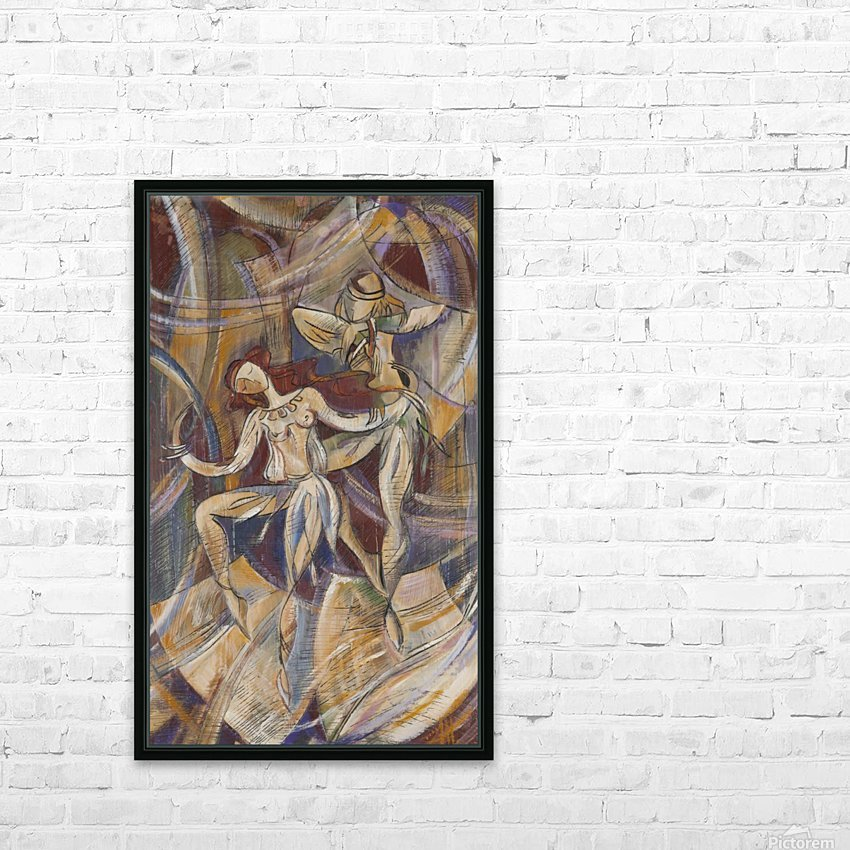From the series of: Dance HD Sublimation Metal print with Decorating Float Frame (BOX)