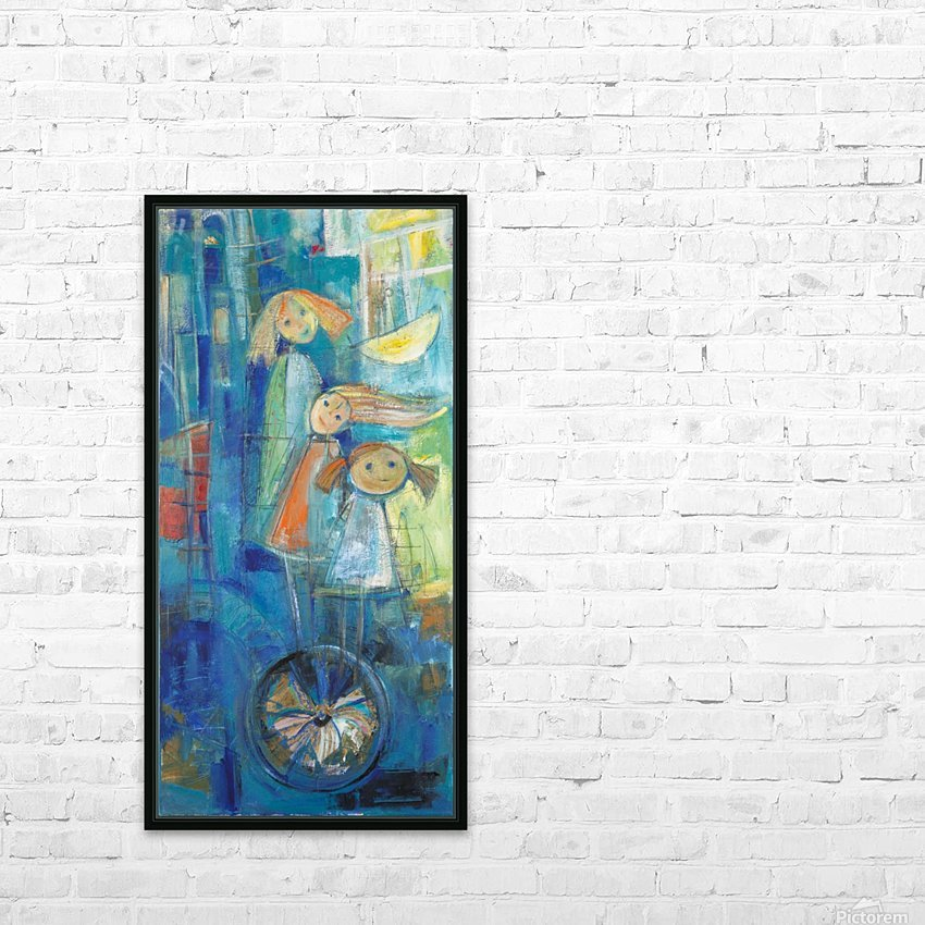 From the series of: Characters HD Sublimation Metal print with Decorating Float Frame (BOX)