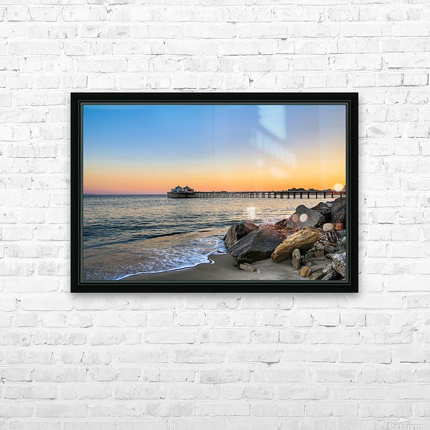 Stranded HD Sublimation Metal print with Decorating Float Frame (BOX)