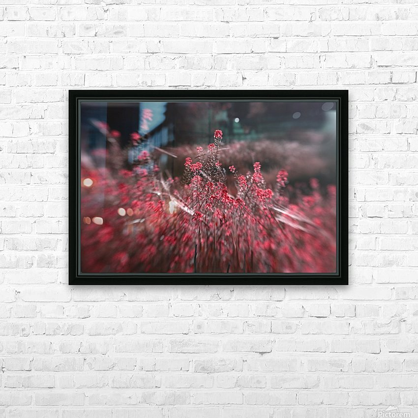 Shine 1 HD Sublimation Metal print with Decorating Float Frame (BOX)