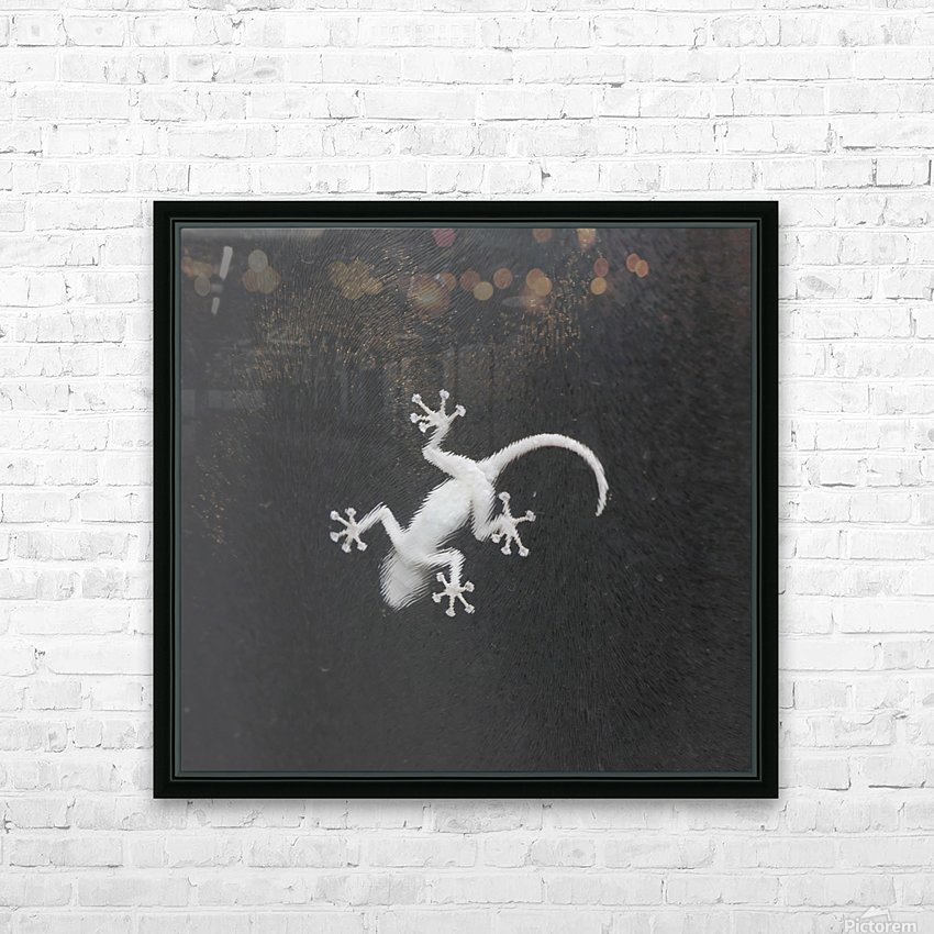 The night hunter HD Sublimation Metal print with Decorating Float Frame (BOX)