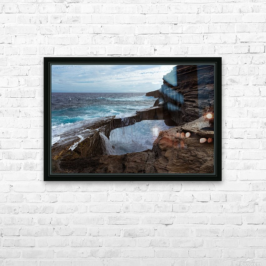 Water Under the Bridge HD Sublimation Metal print with Decorating Float Frame (BOX)