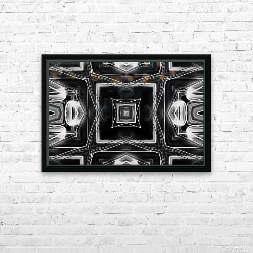 Digital art HD Sublimation Metal print with Decorating Float Frame (BOX)
