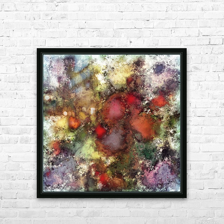 A natural collision of rocks HD Sublimation Metal print with Decorating Float Frame (BOX)