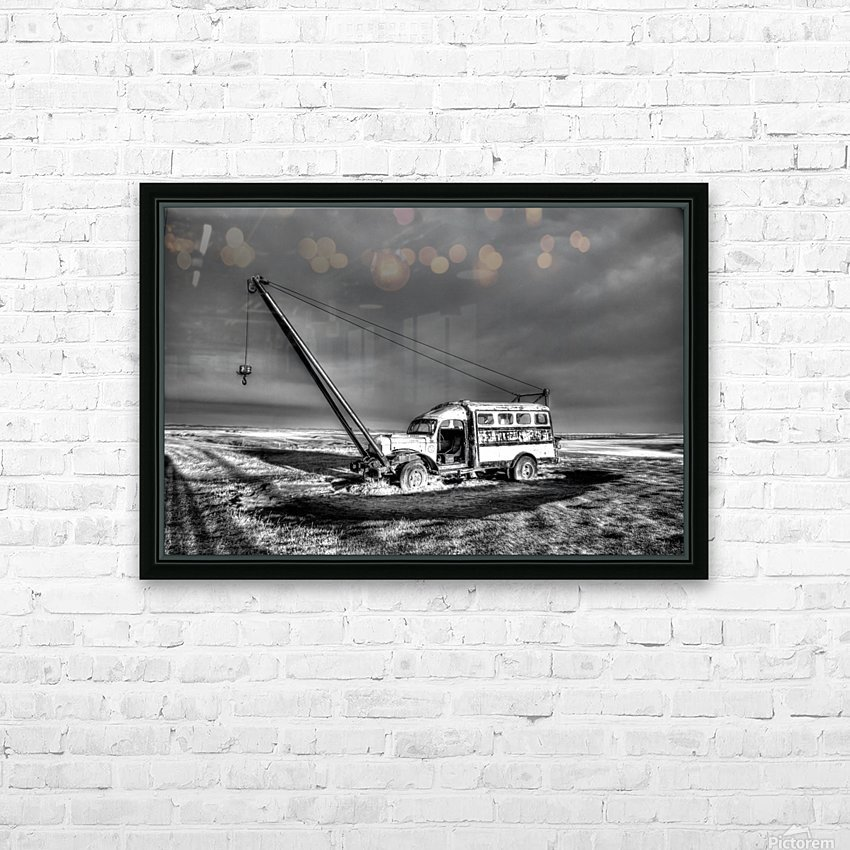 Vintage Boom Truck HD Sublimation Metal print with Decorating Float Frame (BOX)