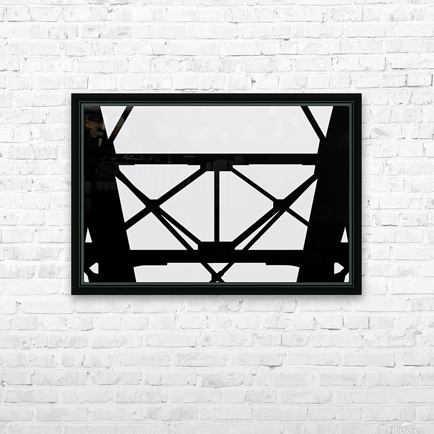 Bridge I HD Sublimation Metal print with Decorating Float Frame (BOX)