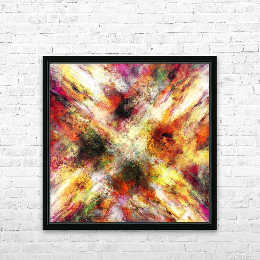 Back to the fires HD Sublimation Metal print with Decorating Float Frame (BOX)
