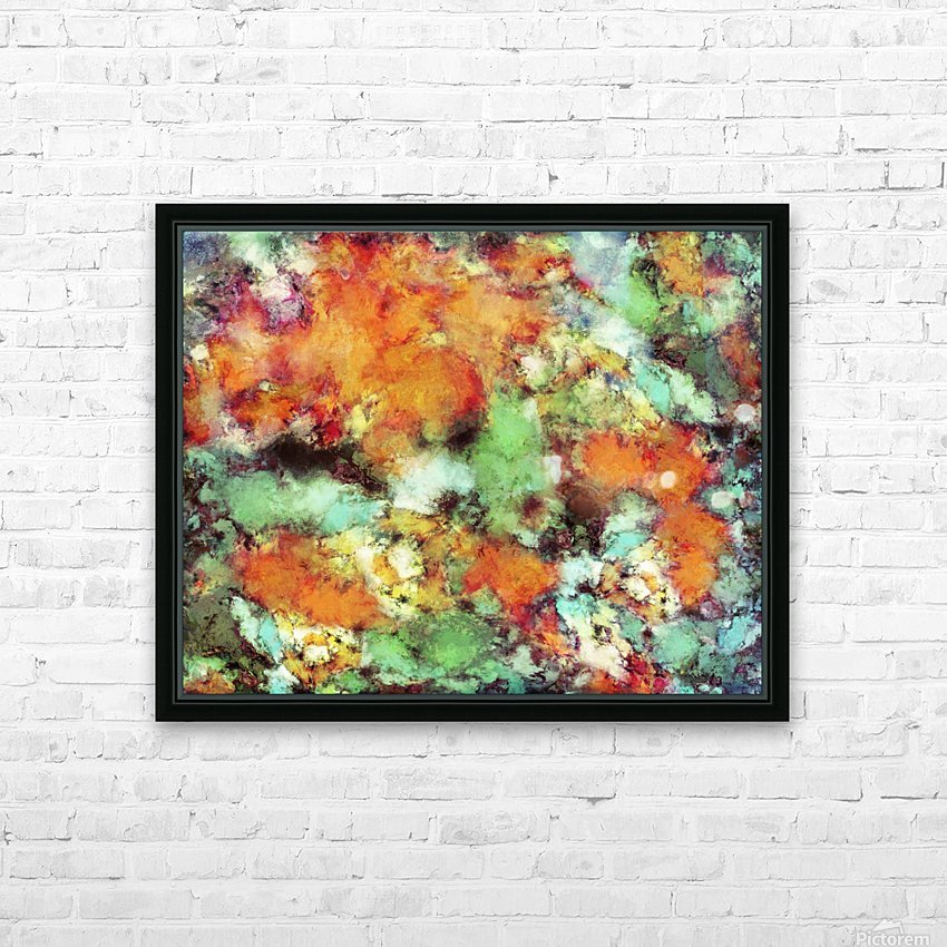 Big cloud collider HD Sublimation Metal print with Decorating Float Frame (BOX)