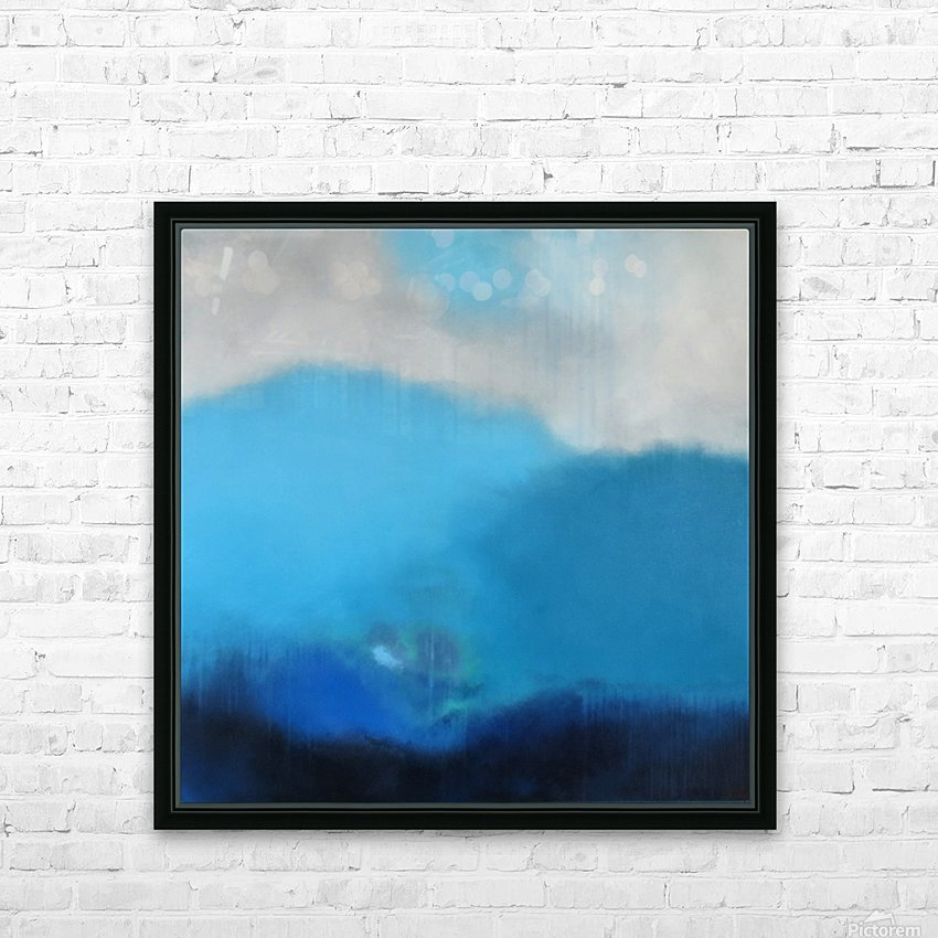 Moment of Clarity III HD Sublimation Metal print with Decorating Float Frame (BOX)