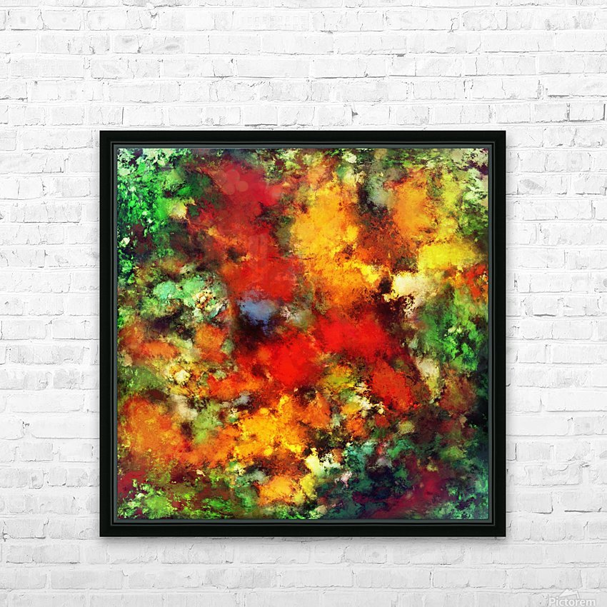 Combustible HD Sublimation Metal print with Decorating Float Frame (BOX)