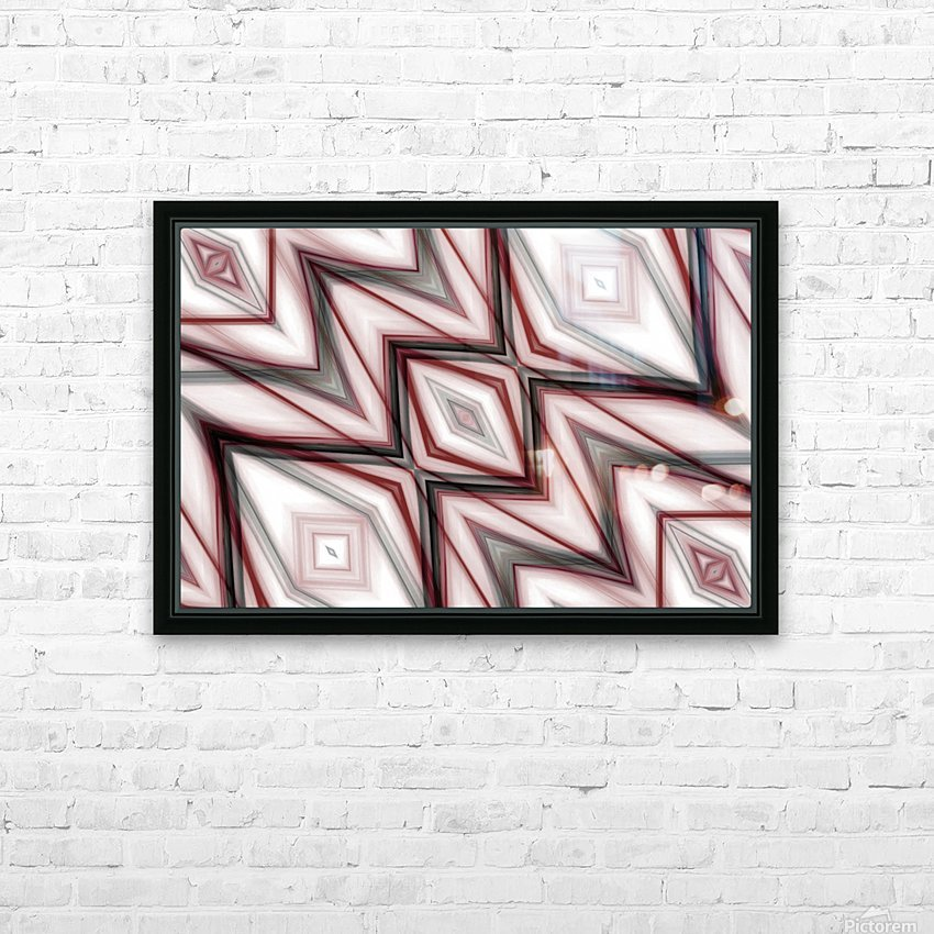 Abstract art III HD Sublimation Metal print with Decorating Float Frame (BOX)