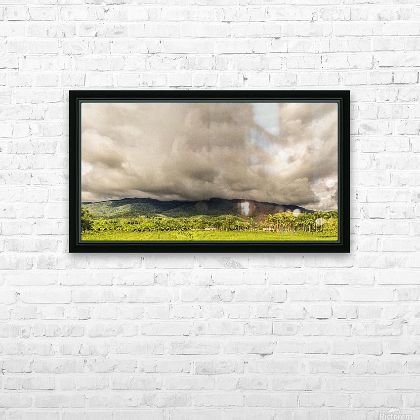 Nature IV HD Sublimation Metal print with Decorating Float Frame (BOX)