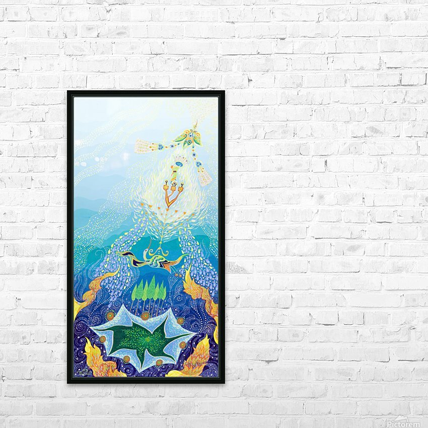 BNC1989-013 HD Sublimation Metal print with Decorating Float Frame (BOX)