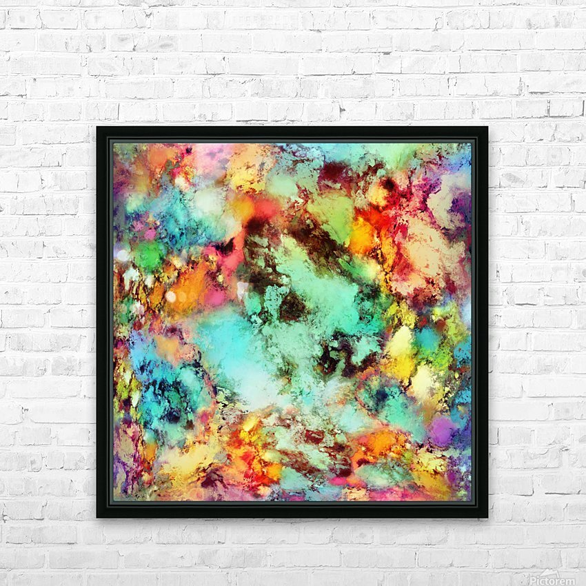 Crunch HD Sublimation Metal print with Decorating Float Frame (BOX)
