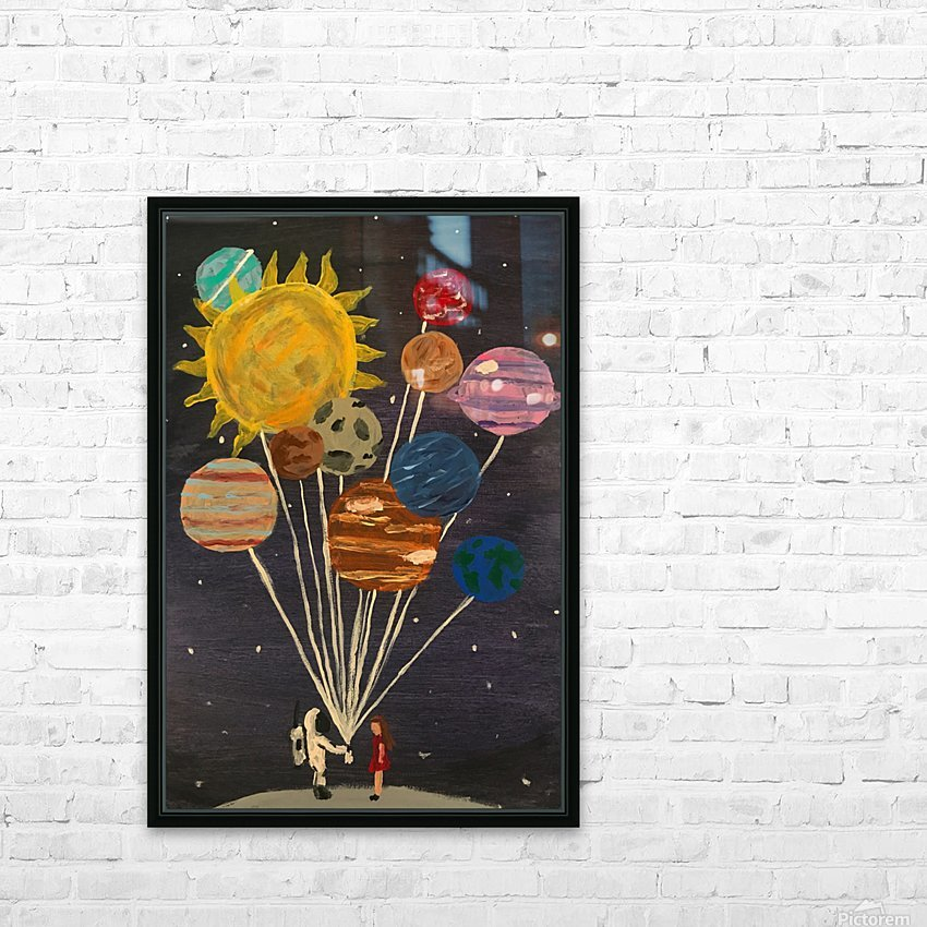 Gift From Out Of This World HD Sublimation Metal print with Decorating Float Frame (BOX)