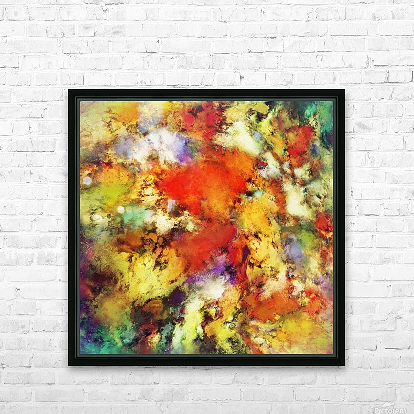 Escape velocity HD Sublimation Metal print with Decorating Float Frame (BOX)