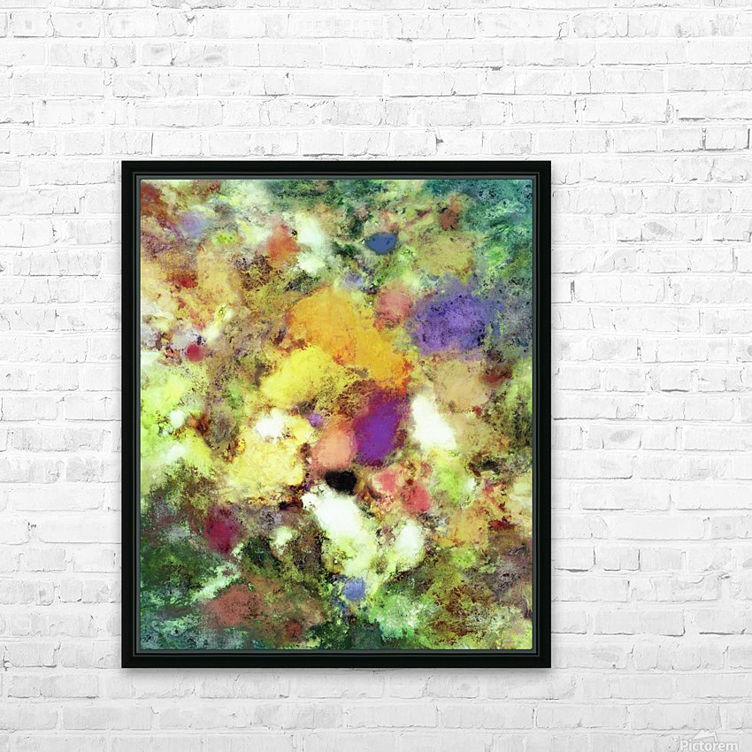 Forgotten petals HD Sublimation Metal print with Decorating Float Frame (BOX)