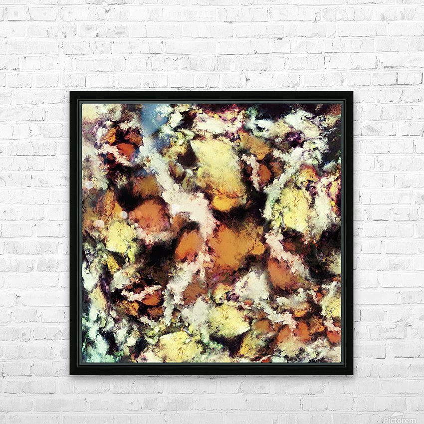 Fractured viewpoint HD Sublimation Metal print with Decorating Float Frame (BOX)