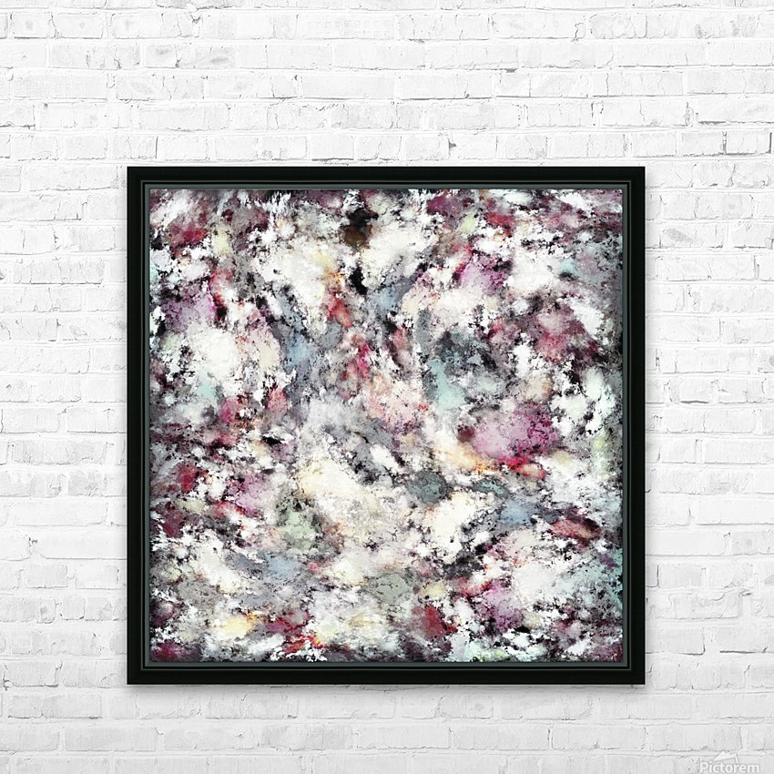 Ground frost HD Sublimation Metal print with Decorating Float Frame (BOX)
