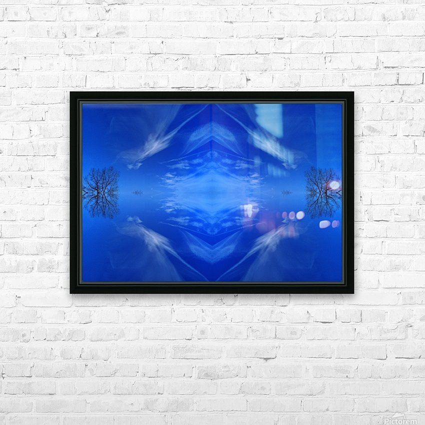 Cloudes 93 HD Sublimation Metal print with Decorating Float Frame (BOX)