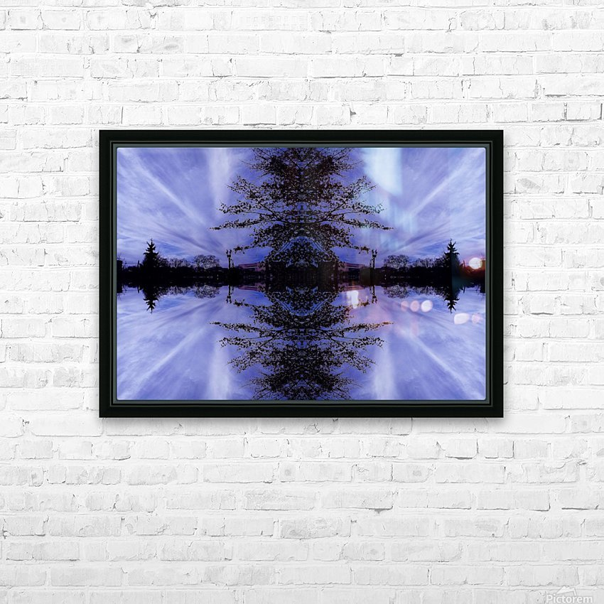 Cloudes 94 HD Sublimation Metal print with Decorating Float Frame (BOX)