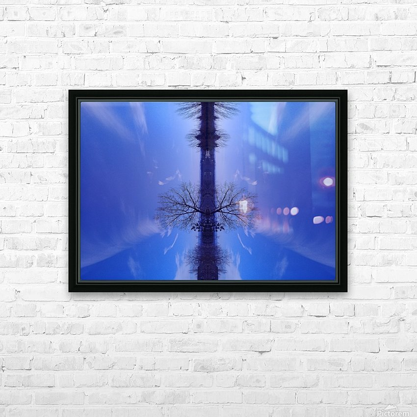 Cloudes 100 HD Sublimation Metal print with Decorating Float Frame (BOX)