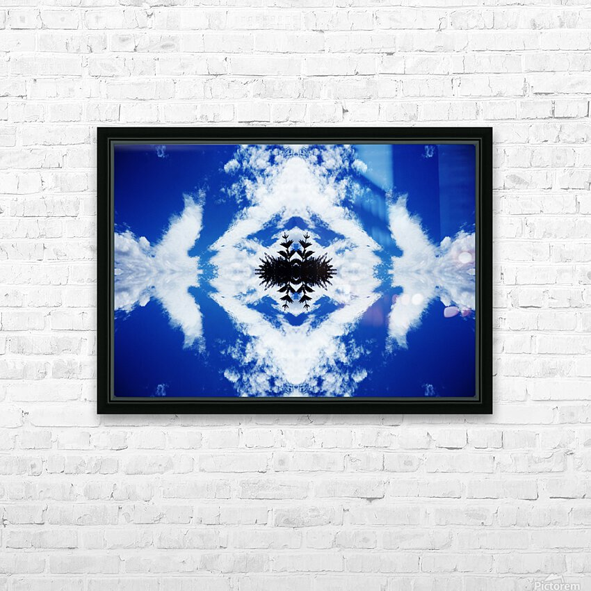 Cloudes 104 HD Sublimation Metal print with Decorating Float Frame (BOX)