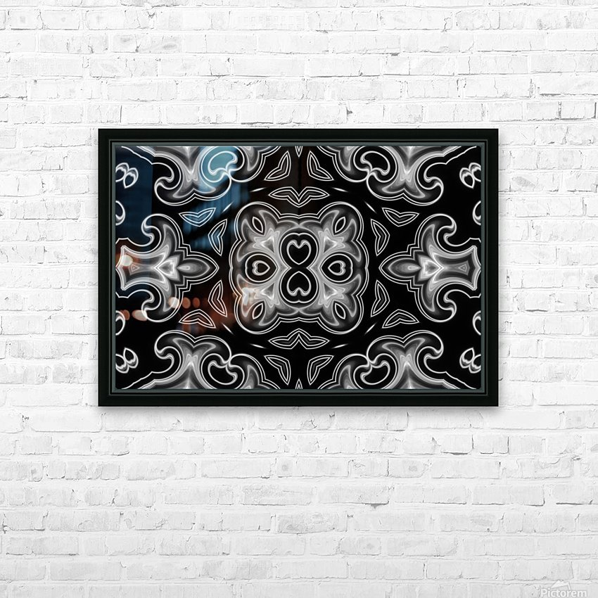 Fine art - Fractal HD Sublimation Metal print with Decorating Float Frame (BOX)