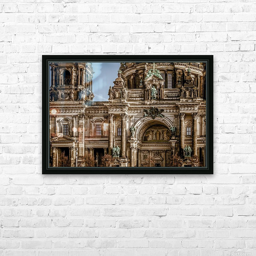 berlin cathedral building_1588539606.9187 HD Sublimation Metal print with Decorating Float Frame (BOX)