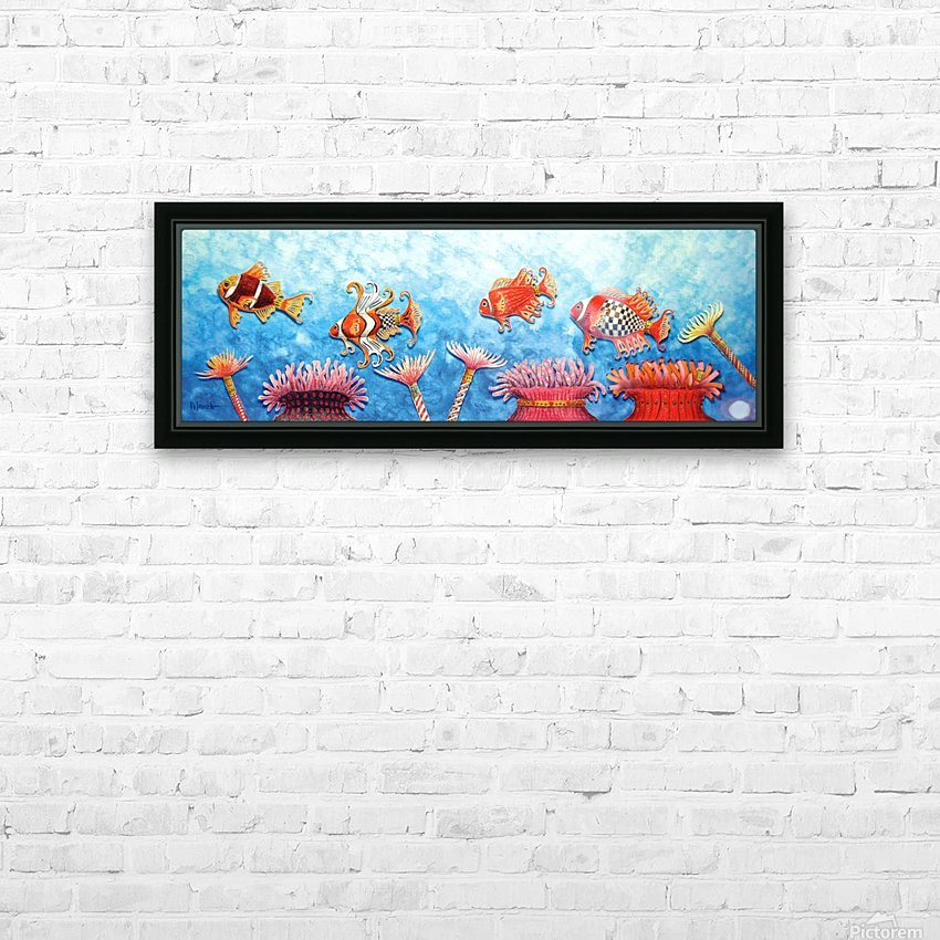 Parade HD Sublimation Metal print with Decorating Float Frame (BOX)