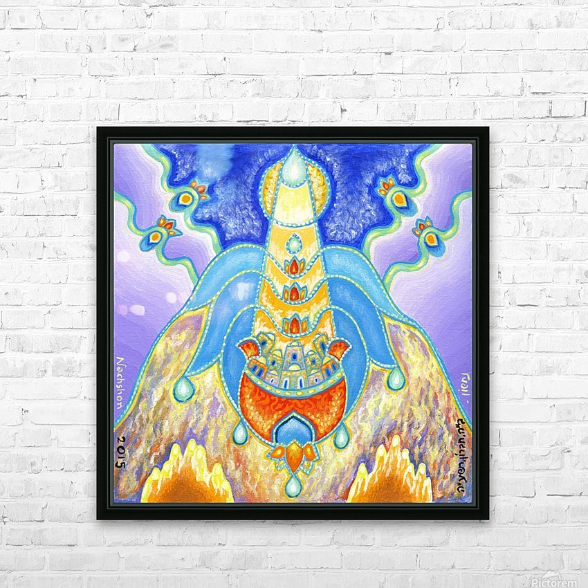 BNC2015-024 HD Sublimation Metal print with Decorating Float Frame (BOX)