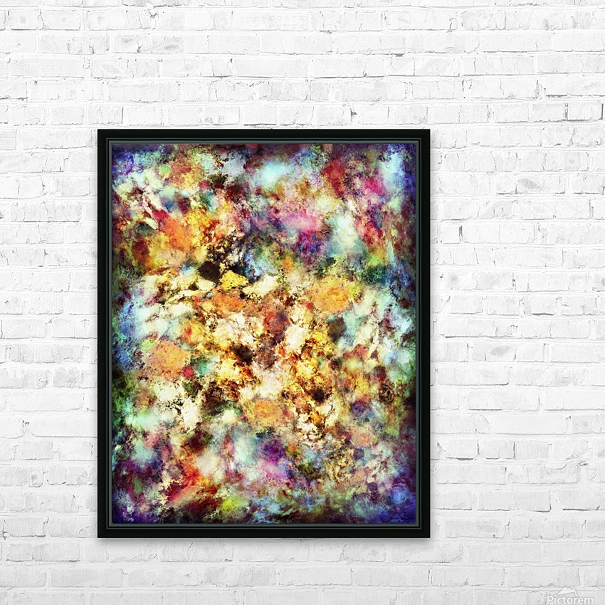 Into the distance HD Sublimation Metal print with Decorating Float Frame (BOX)