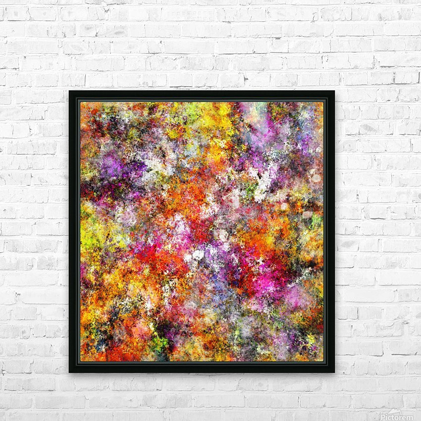 Jumble HD Sublimation Metal print with Decorating Float Frame (BOX)