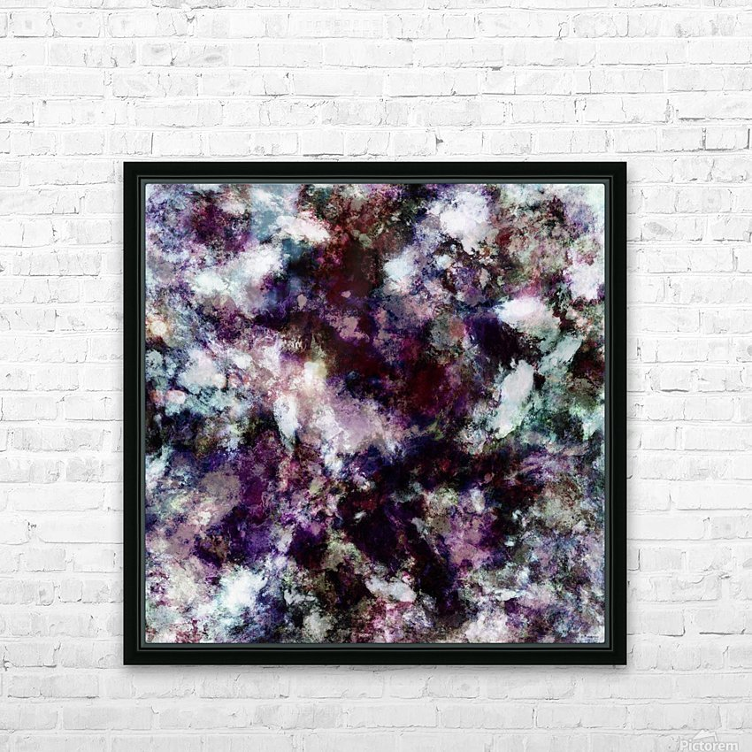 Lost in thought HD Sublimation Metal print with Decorating Float Frame (BOX)